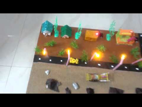 Geo Thermal Power Plant   Working model