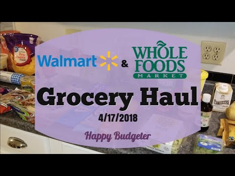 Low Carb Walmart & Whole Foods Grocery Haul | Happy Budgeter