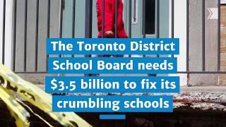 Repair backlog in Ontario schools hits $16.3 billion
