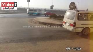 بالفيديو..النشرة المرورية.. تباطؤ حركة السيارات بمحاور القاهرة والجيزة