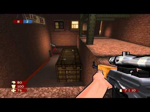 XIII Gameplay Multiplayer - Team Deathmatch New York
