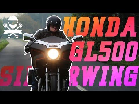 Ten Motocykl Ma 35 Lat! Honda GL500 Silver Wing - najstarszy motocykl w historii motobandy!