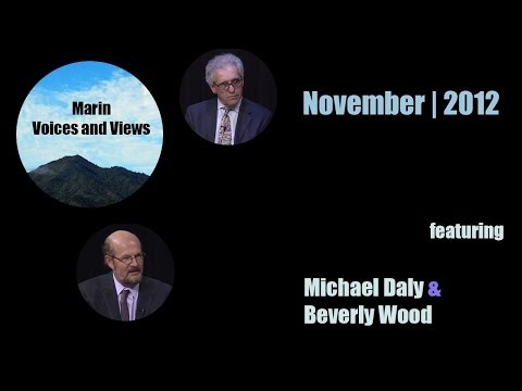 November 2012 | Michael Daly and Beverly Wood | Marin Voices