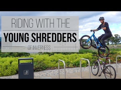 Riding With the Young Shredders of Inverness