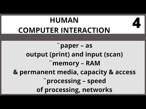 Human Computer Interaction Lecture 4 in Urdu| Hindi I Vcomsat