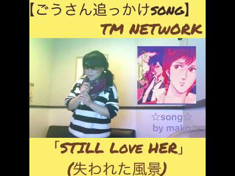 TM NETWORK「STILL LOVE HER(失われた風景)」cover☆by mako♪