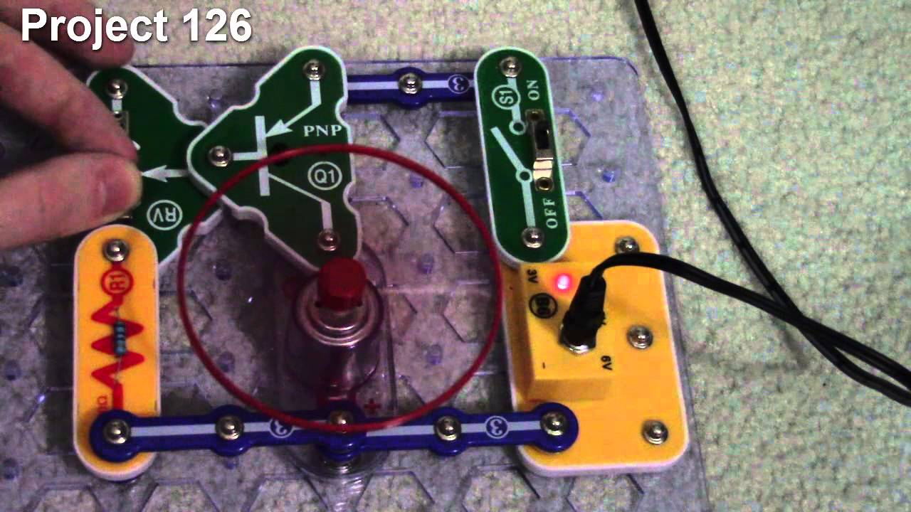Elenco Snap Circuits Projects 122 133 Youtube Learn About Electronics With Junior