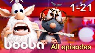 Booba - Full Episodes Compilation (21-1) Funny cartoons for kids 2017 KEDOO animation for kids