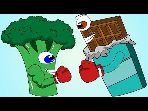 Healthy Food Vs Junk Food Song!
