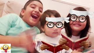 Silly Emojis | Cheeky Tots Goofing Around | Funny Faces using Emojis