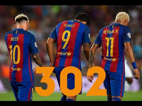 MSN ● Все 302 гола за \