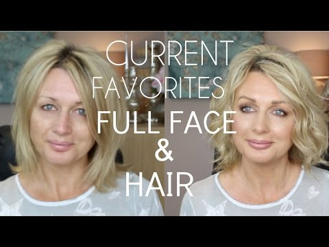 CURRENT FAVORITES - FULL FACE AND HAIR (July2016)