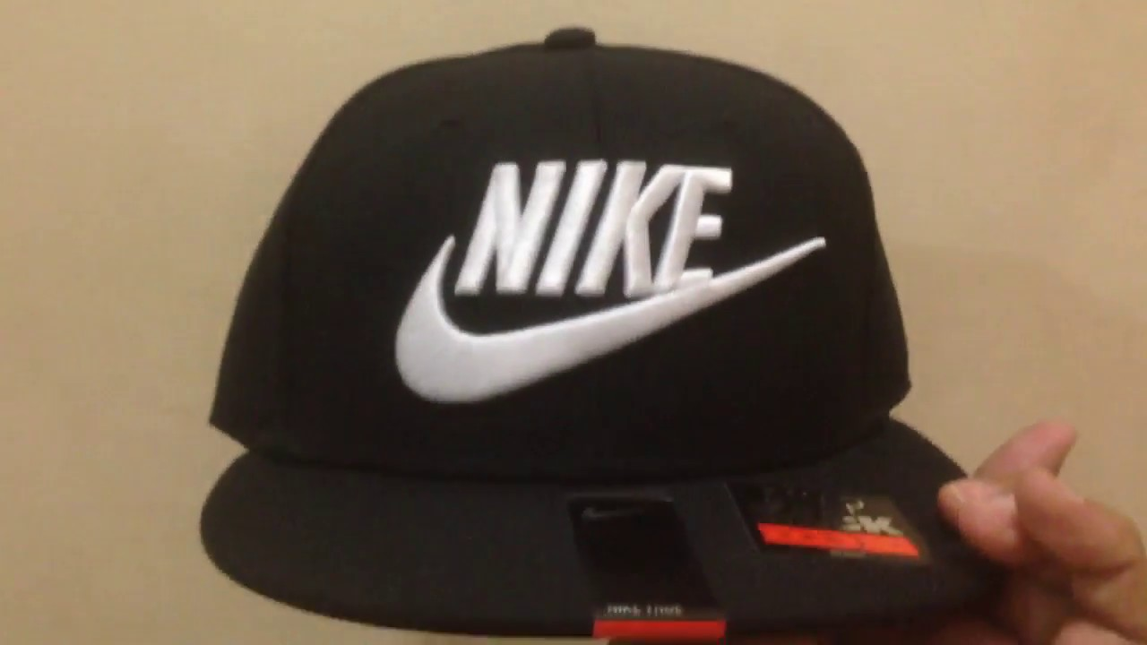 Nike Black 9FIFTY Cap  original  - YouTube 962982265d6