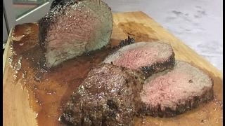 Запеченная говядина филе лопатки  1.5 кг! В керамическом гриле MONOLITH