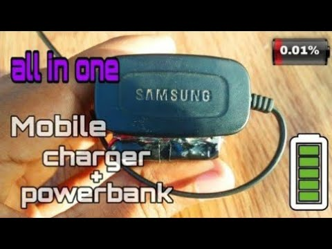 #homemade #powerbank ||how Can You Make Your Own Charger + Power Bank || All In One