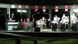 Live performance by Swingin' Paradise Jazz Orchestra at Jazz Festiv...