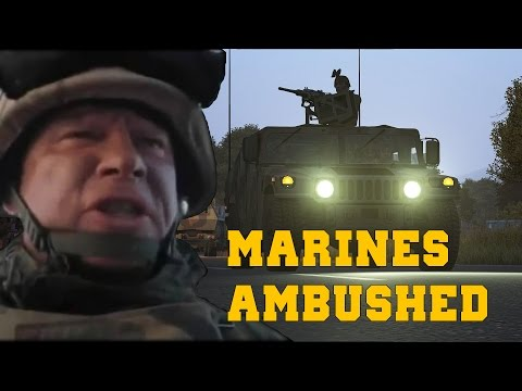 Marines Ambushed in Cherno - Arma 3 Coop [1080p]