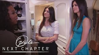 A Tour of Kylie and Kendall Jenner's Closets | Oprah's Next Chapter | Oprah Winfrey Network