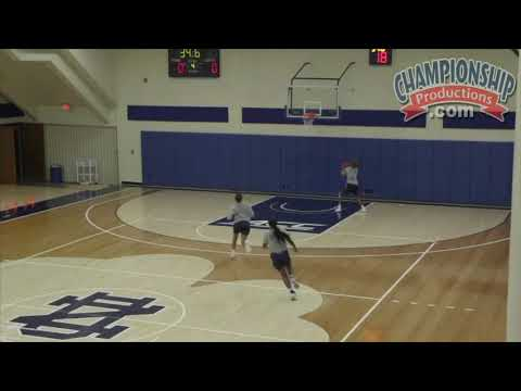 Muffet McGraw's Basketball Drill to Push the Pace on Offense!