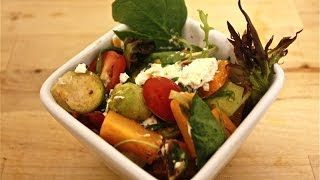Roasted Vegetable Salad W/ Maple Mustard Vinaigrette