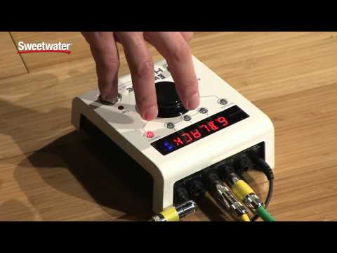 Eventide H9 Max Multi-effects Pedal Demo by Sweetwater