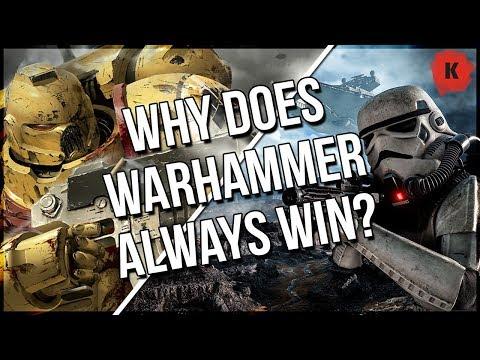 Warhammer 40,000 VS Star Wars, Star Trek, Halo etc & Why Warhammer Always Wins