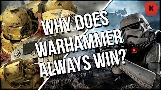 Warhammer 40,000 VS Star Wars, Star Trek, Halo etc & Why Warhammer Always Wins