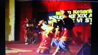 Tari Piring di atas kaca- Sofyani Dance and Ensemble  27th September 1991