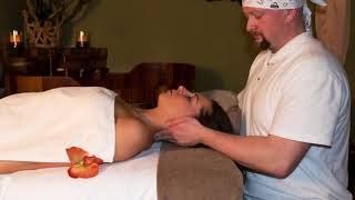 Honza Klein masáž - sekvence fotografií