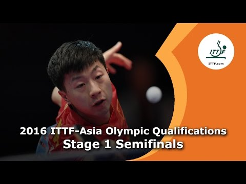 2016 ITTF-Asia Olympic Qualification  - Stage 1 Semi Finals