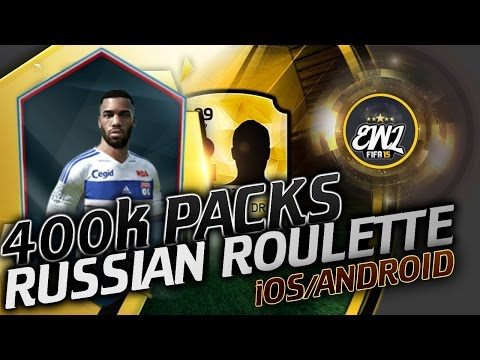 FIFA 15 | RUSSIAN ROULETTE / РУССКАЯ РУЛЕТКА | iOS/ANDROID [ПАКИ ЗА 400к]