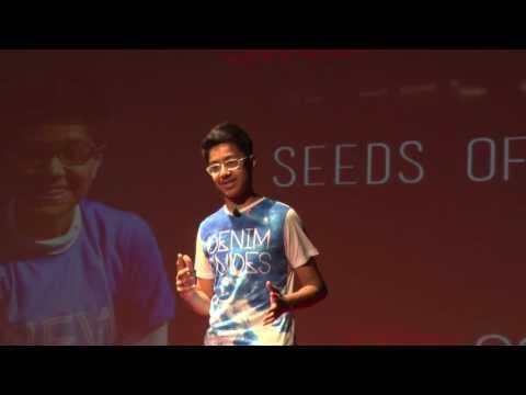 Seeds of Peace | Aaditya Singh | TEDxOOBSchool