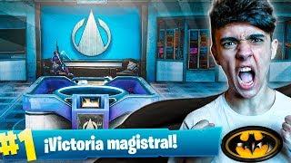 EPIC VICTORIA EN LA MANSIÓN DE BATMAN en FORTNITE: Battle Royale!! - Agustin51