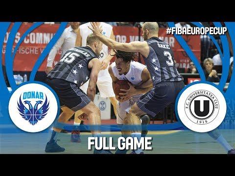 LIVE🔴 - Donar Groningen (NED) v U-BT Cluj Napoca (ROU) - FIBA Europe Cup 2017-18
