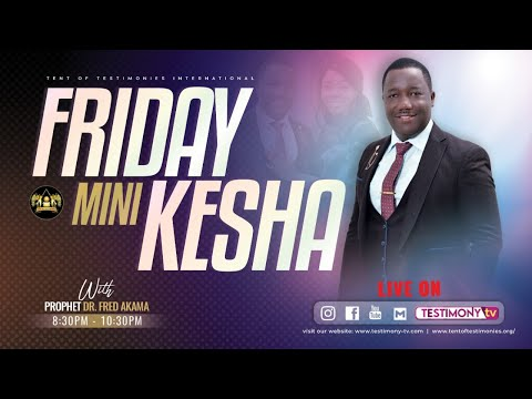 FRIDAY MIRACLE SERVICE: 24/09/2021: FINANCIAL BREAKTHROUGH BROADCAST.