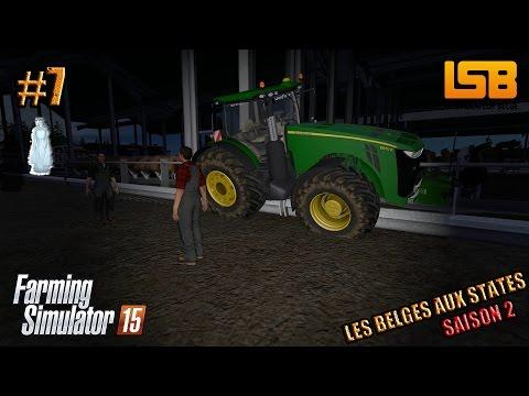 RôlePlay | Les Belges aux States #7 S2 | Le fantôme | Farming simulator 15