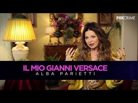 Alba Parietti ricorda Gianni Versace per FoxCrime