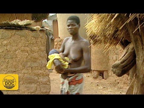 Modo de vida de una tribu de costa de marfil
