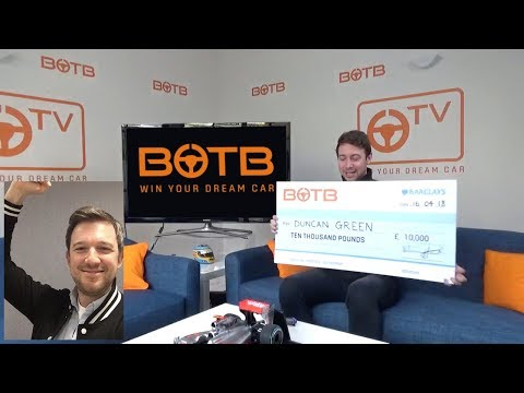 BOTB Lifestyle Competition! Duncan Green  £10,000 Cash  Week 15!