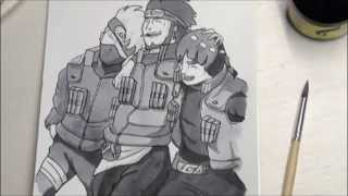 kakashi, asuma and gai