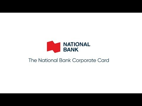 The National Bank Mastercard® Corporate Card