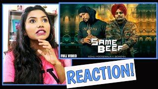 South Indian Reacts To SAME BEEF | Bohemia l Sidhu Moose Wala | Latest Punjabi songs 2019