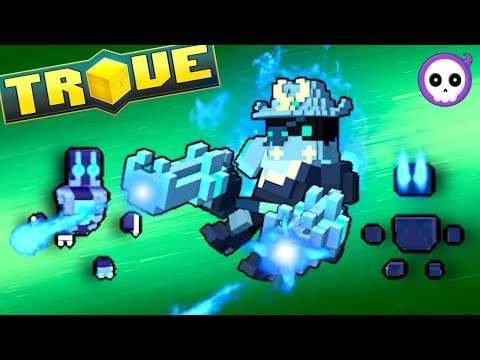 HOW THE GUNSLINGER GLIDE ABILITY WORKS IN TROVE!
