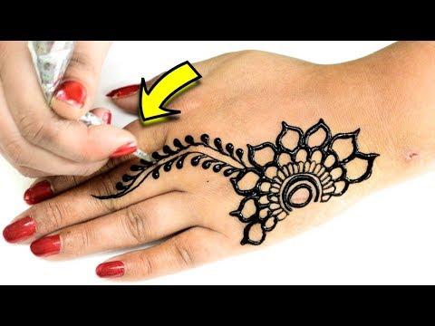 New Stylish Full Hand Henna Mehndi Design 2019 Easy Mehndi Designs