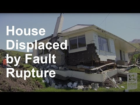 House Displaced by Fault Rupture