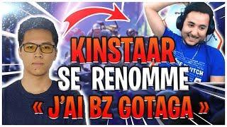 "EPIC TROLL de KINSTAAR à GOTAGA ""J'AI BZ GOTAGA"" - Best Of Fortnite Twitch France #22"