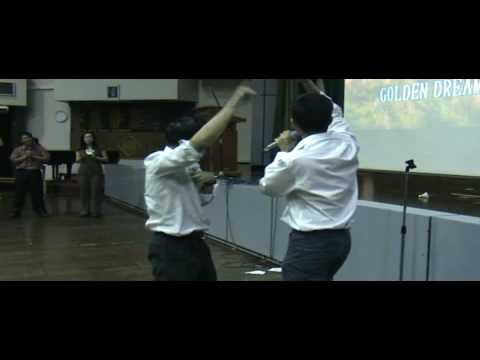 RGS Sec 4 Interclass Karaoke 08: Mr Lim Boon Tat & Mr Joseph Toh