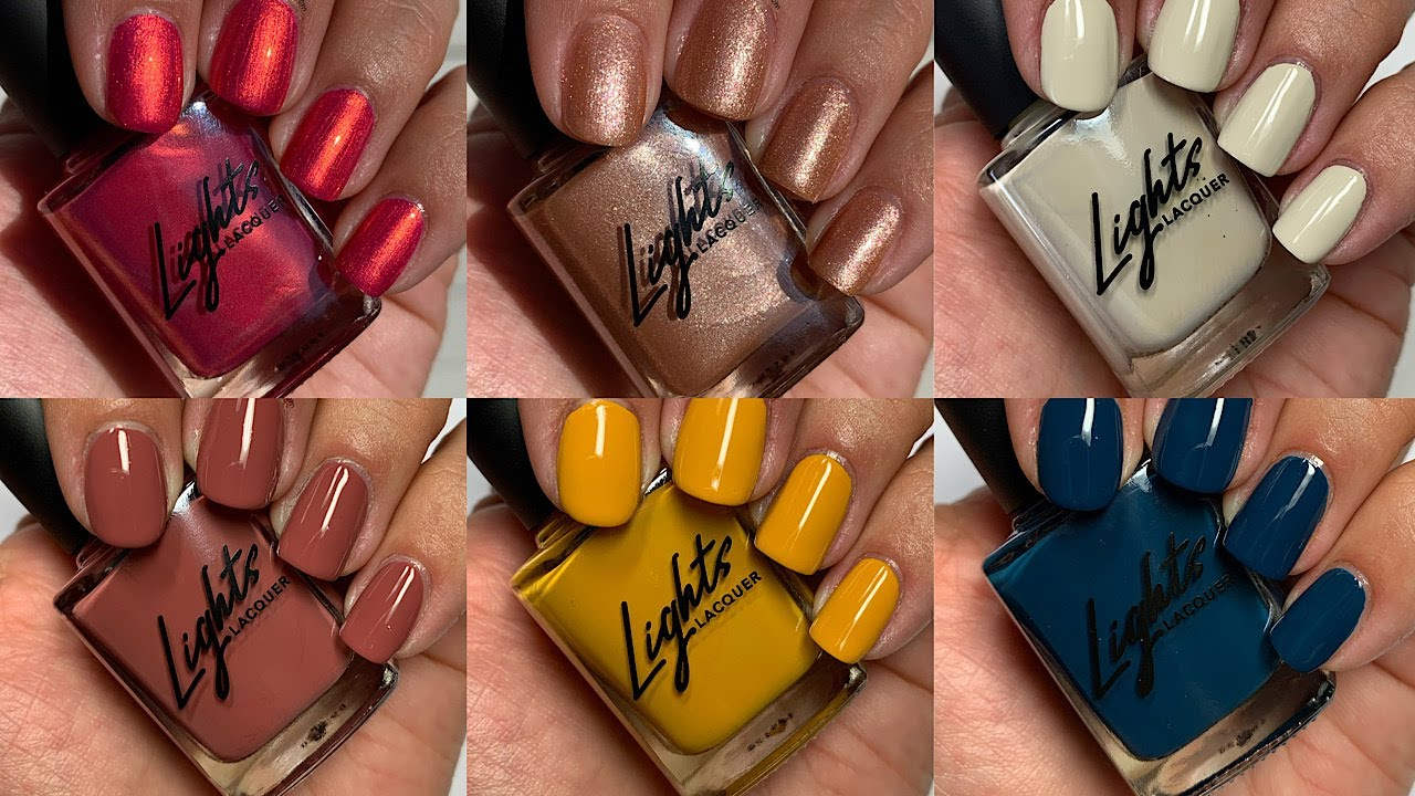 Lights Lacquer When in Romance Fall 2020 Collection - YouTube