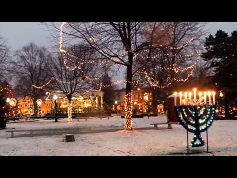 2016 Fairfield Iowa Christmas Snow