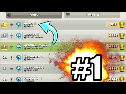 HE KNOWS IM COMING FOR HIM!! 🔥 Clash Of Clans 🔥 TOP 200 GLOBAL!